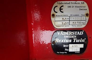 2008 VADERSTAD REXIUS TWIN 830 PRESS