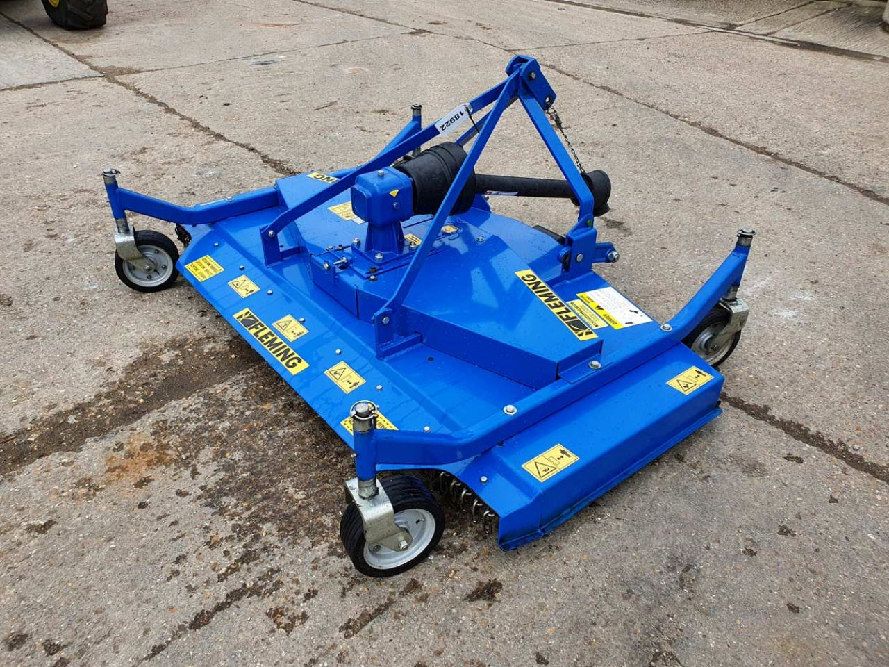 2015 FLEMMING SM 180 P FINISHING MOWER