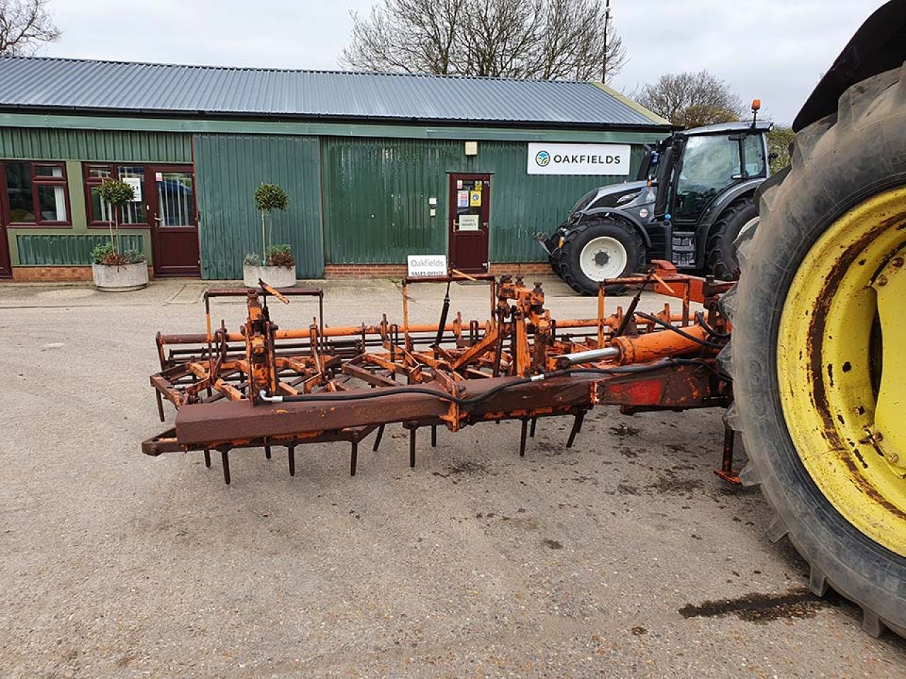 WILDER 6.6M PRESSURE HARROW