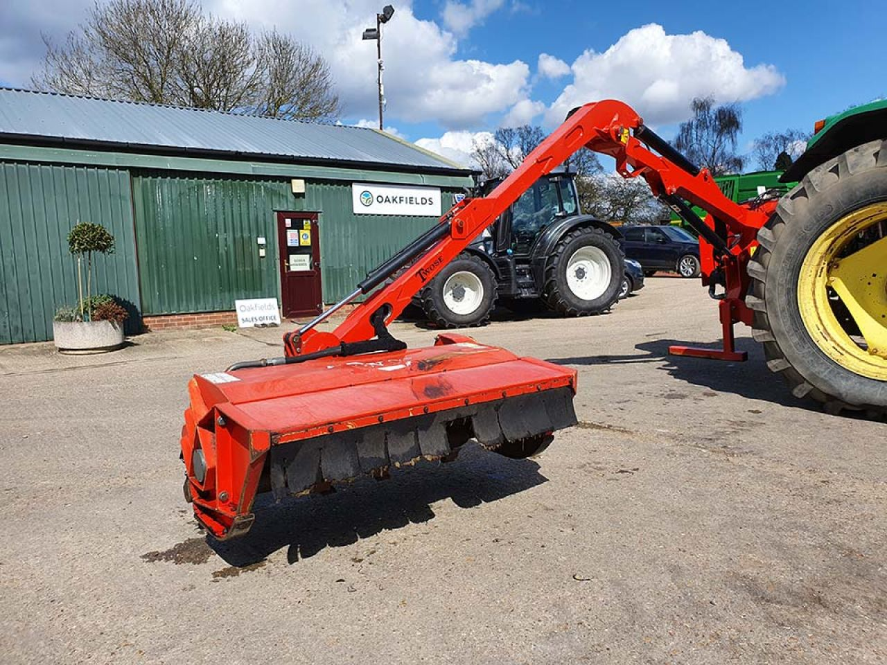 2013 TWOSE TE480 RH HEDGECUTTER