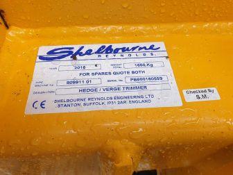2016 SHELBOURNE REYNOLDS 660T HEDGE / VERGE CUTTER