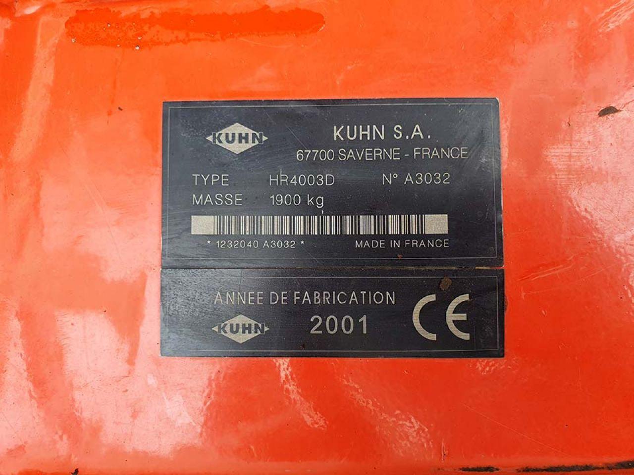 KUHN HR4003D & VENTA LC402 COMBI DRILL