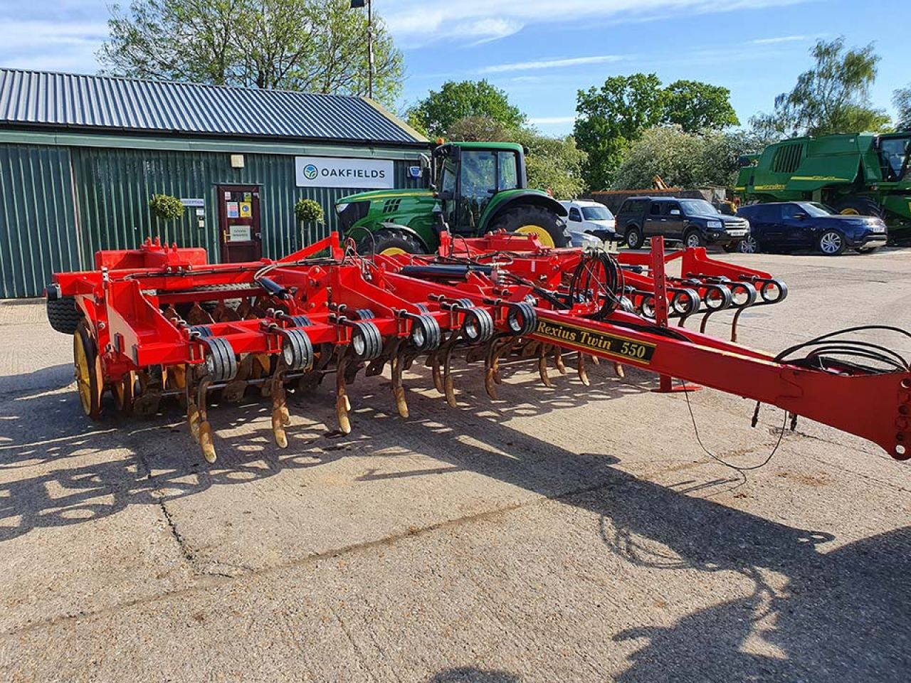 2012 VADERSTAD REXIUS TWIN RST 550