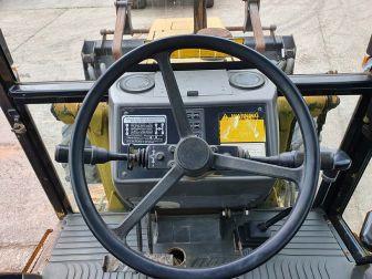 1991 FORD 655C TURBO 4WD DIGGER LOADER