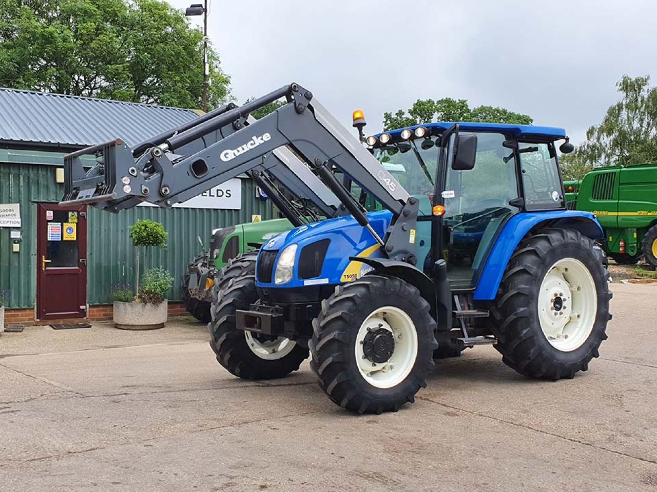 2013 NEW HOLLAND T5050 4WD TRACTOR