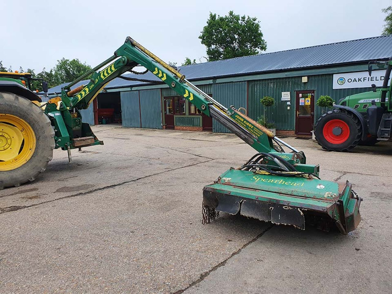 2006 SPEARHEAD EXCEL 726T HEDGECUTTER