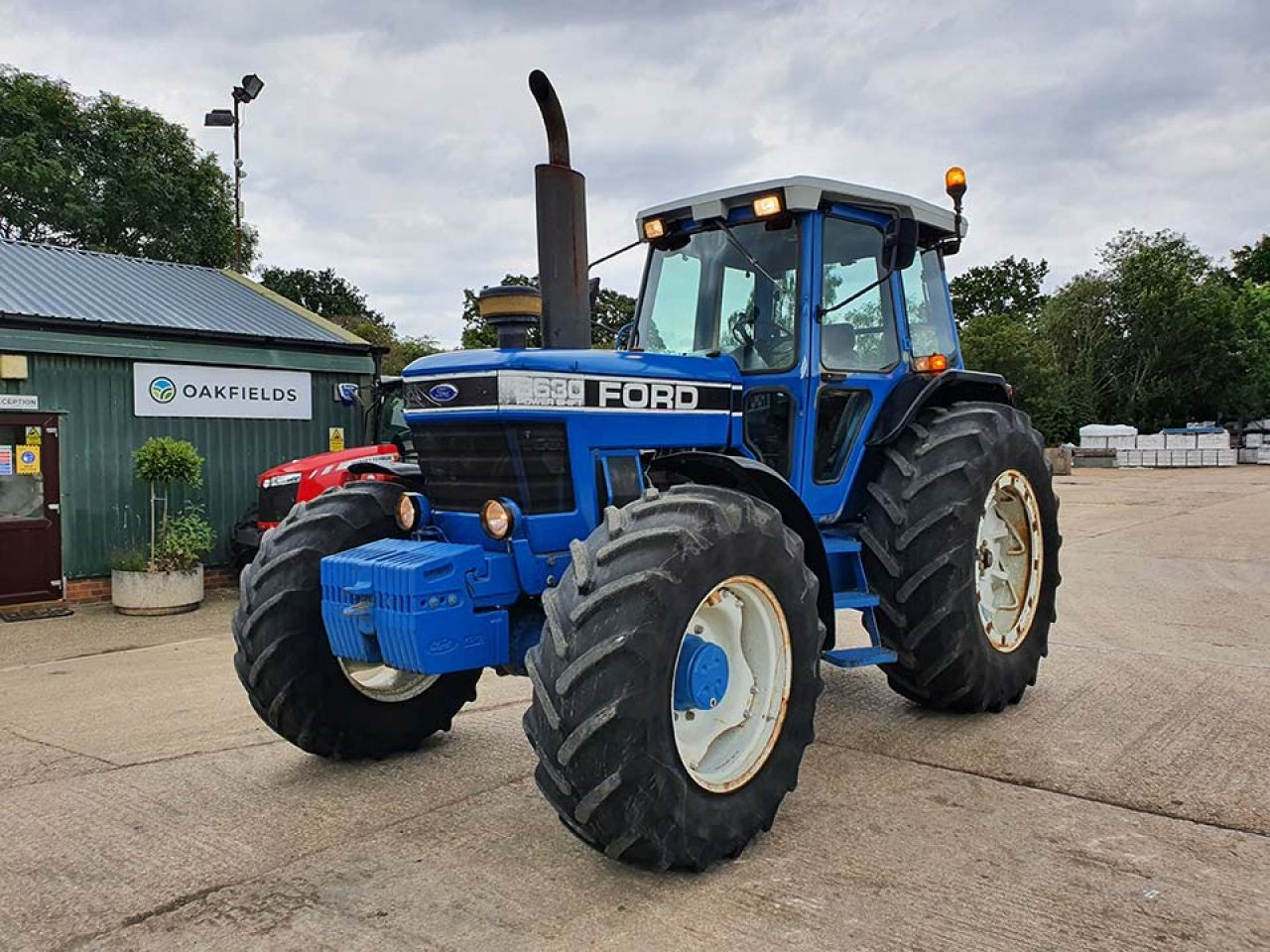 1990 FORD 8630 POWERSHIFT 4WD TRACTOR