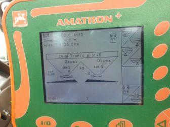 AMAZONE ZA - M 3000 PROFIS FERTILISER SPREADER